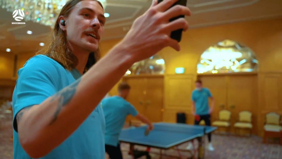 Jackson Irvine takes you on an exclusive tour of Socceroos camp