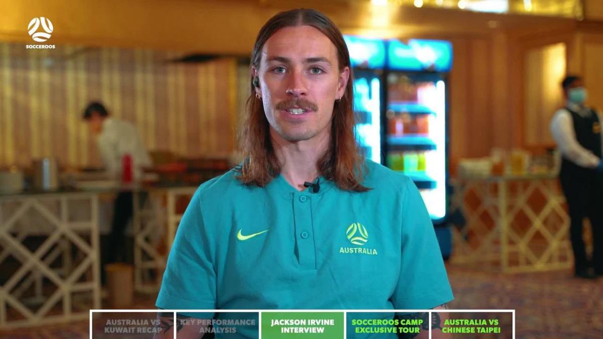 Jackson Irvine chats to the Socceroos Insider ahead of Chinese Taipei match | Interview