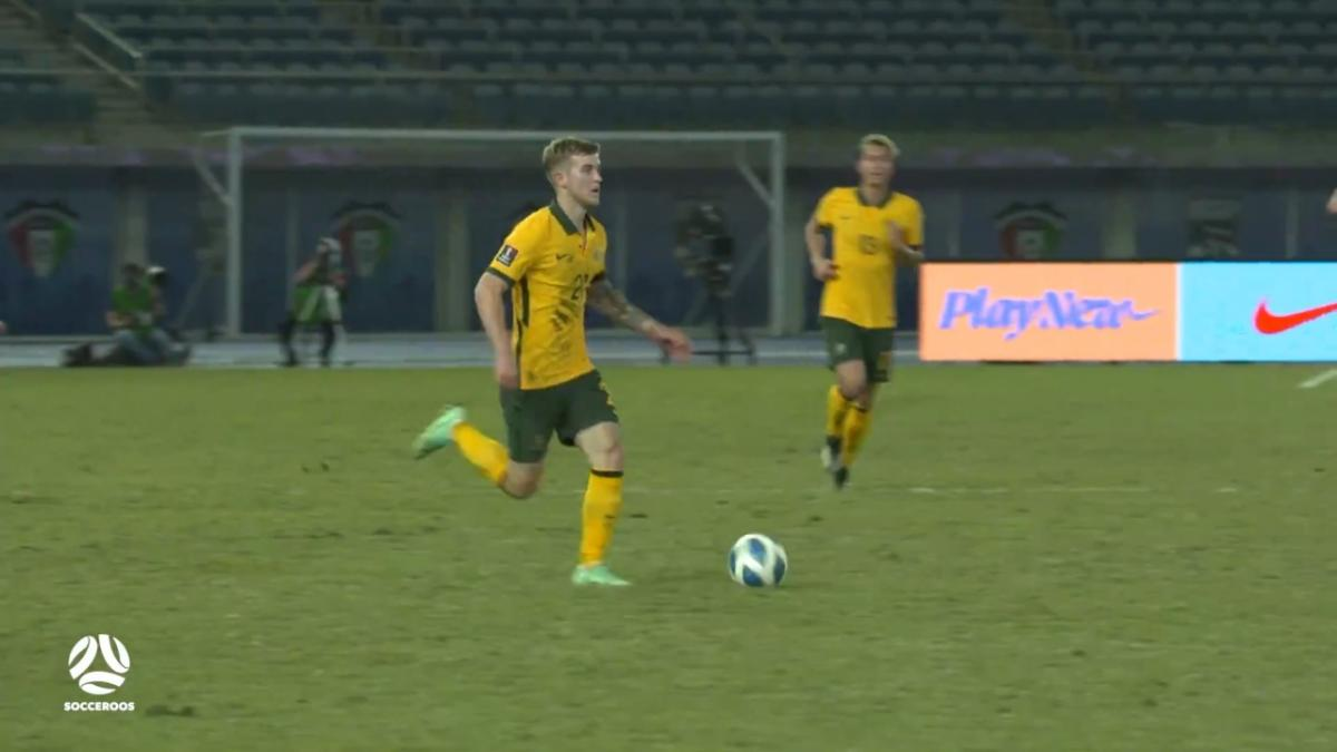 Riley McGree's outstanding full Socceroos debut | Highlights | Australia v Chinese Taipei