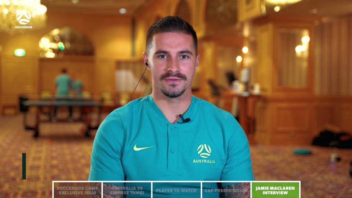Jamie Maclaren chats to Socceroos Insider ahead of Chinese Taipei match | Interview