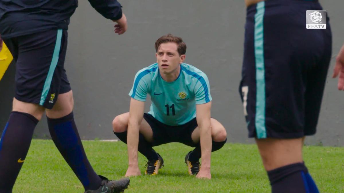 GOAL: Fran Karacic scores first Socceroos goal in second game | Australia v Nepal