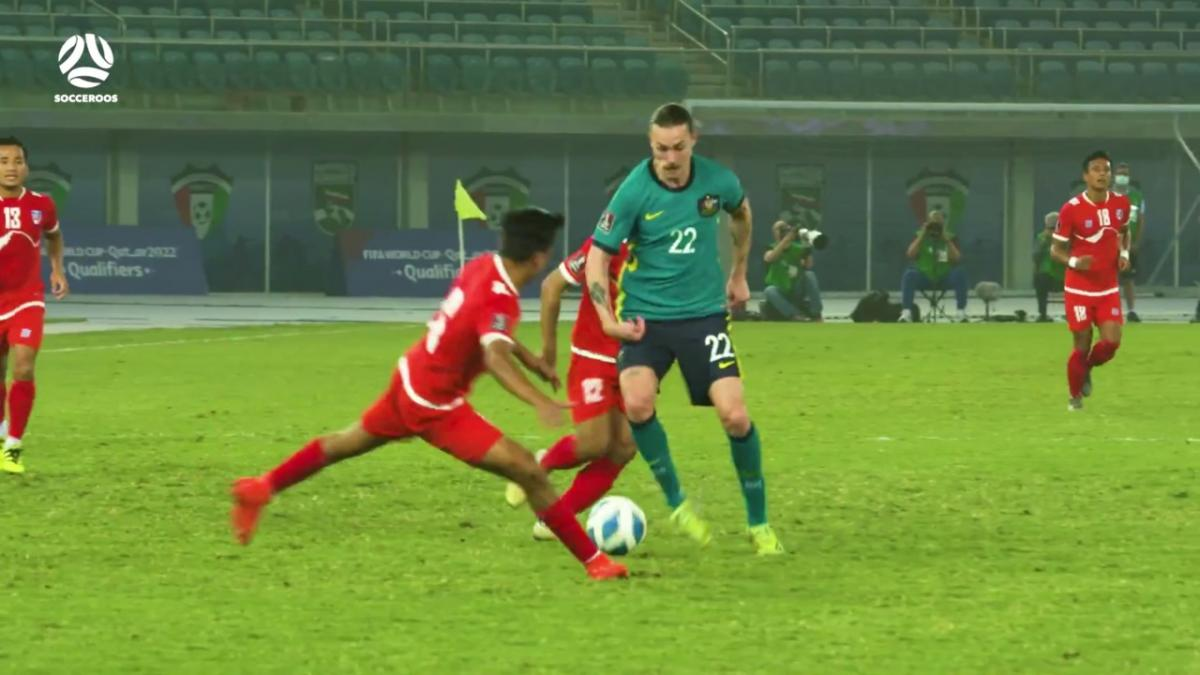 Jackson Irvine's best touches for the Socceroos v Nepal | Highlights | Australia v Nepal