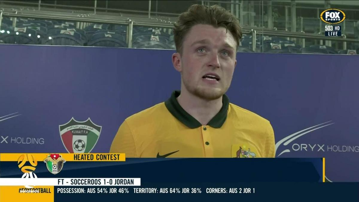 Harry Souttar: It's not only about my goals  | Interview | Socceroos v Jordan | FIFA World Cup 2022 qualifier