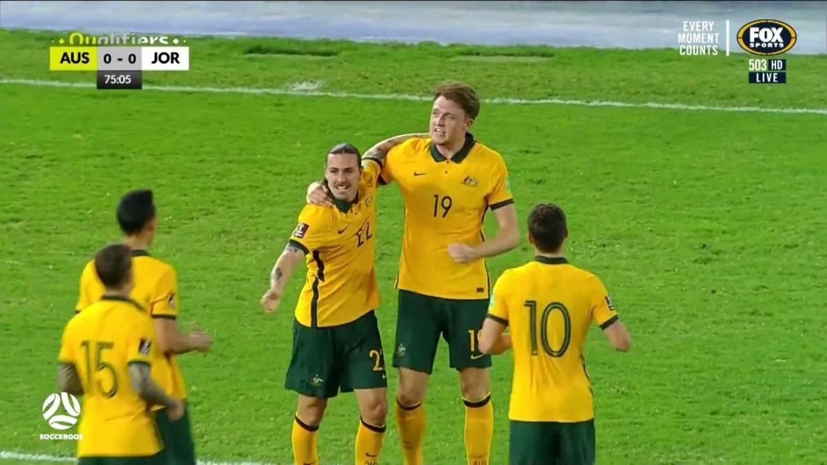 Match Highlights | Socceroos v Jordan | Australia's FIFA World Cup 2022 Qualifier