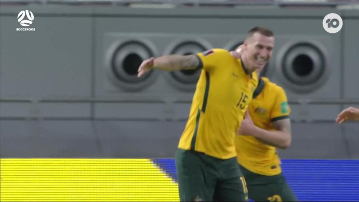 Get pumped for the Socceroos' October World Cup Qualifiers!