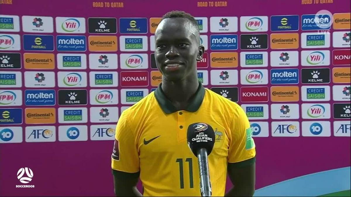 Awer Mabil: it's a privilege every time I play for Australia | Interview | FIFA World Cup Qualifiers