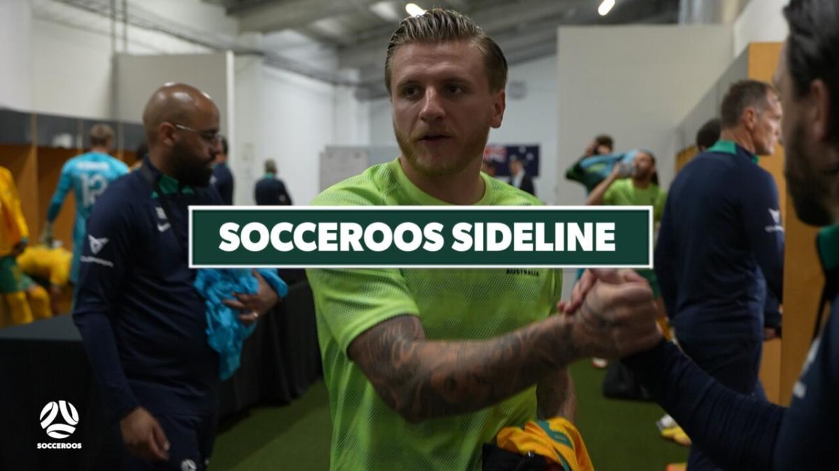 GOAL: Boyle - In-form striker restores Australia's lead