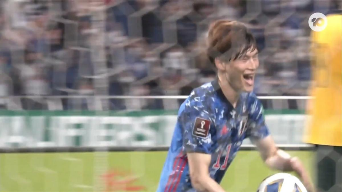 GOAL: Japan win it late