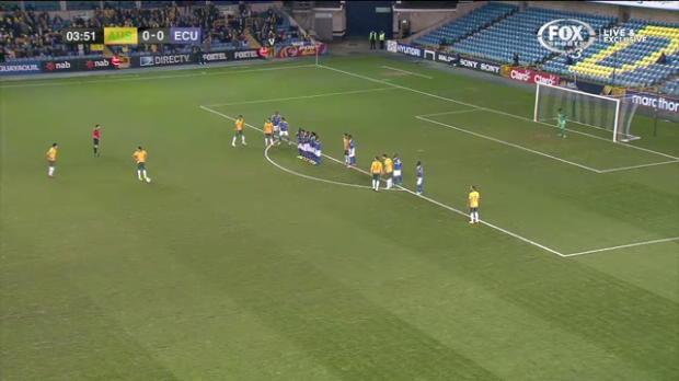 Australia v Ecuador match highlights