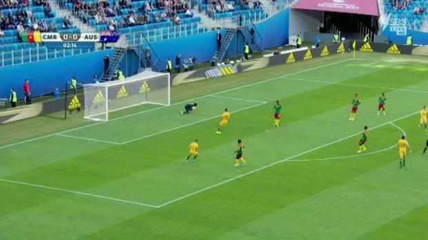 Socceroos secure draw with Cameroon