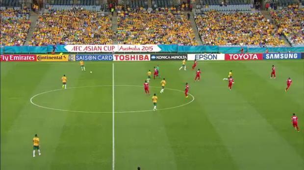 Socceroos v Oman highlights