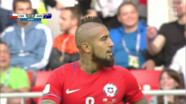 Impressive Socceroos held by Chile