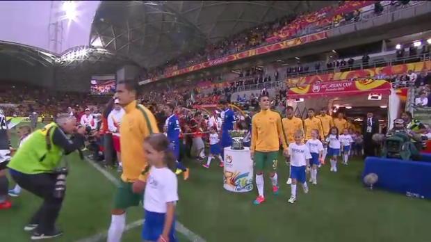 Socceroos dazzle in opening night win