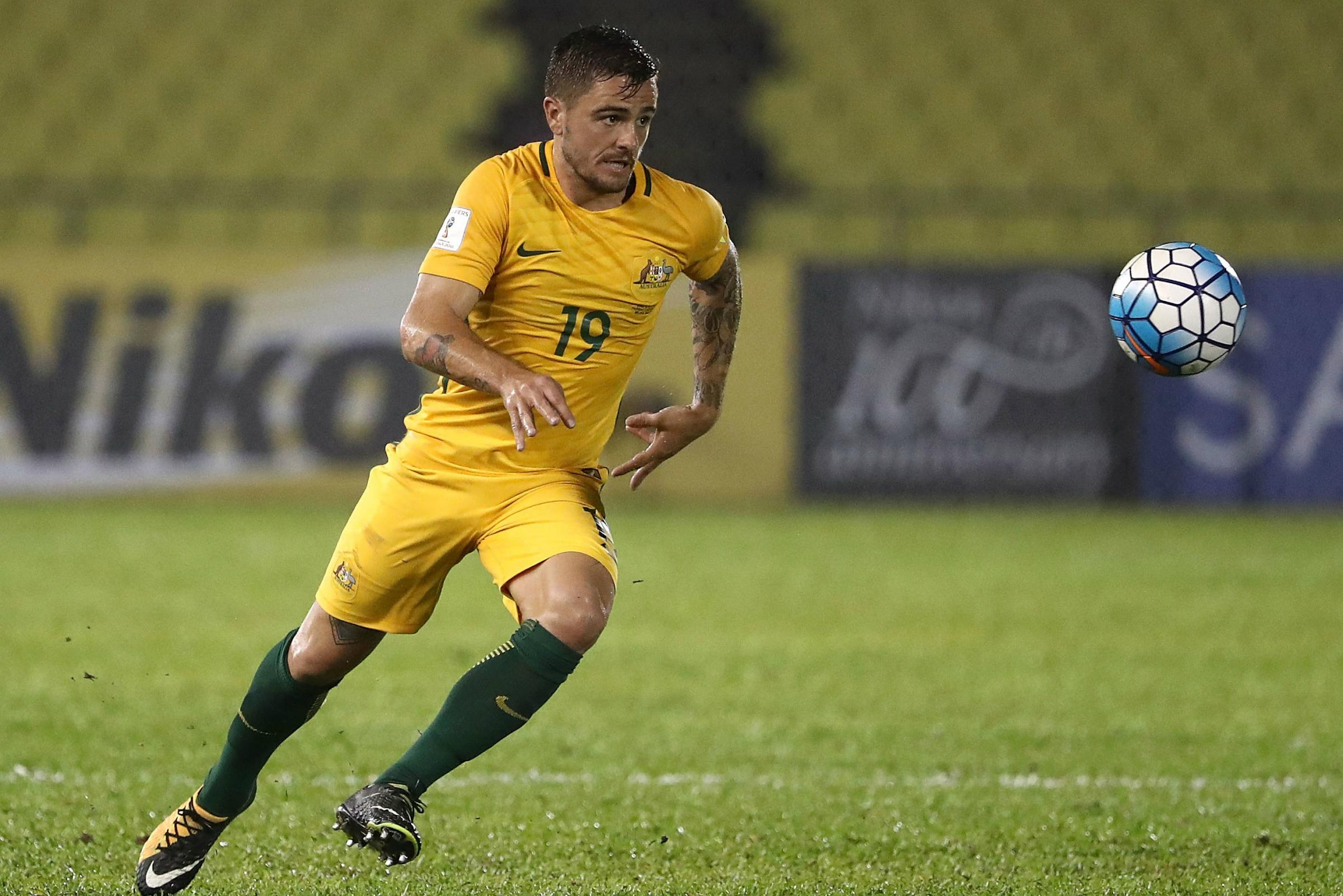 Josh Risdon was excellent for the Caltex Socceroos in the first leg.