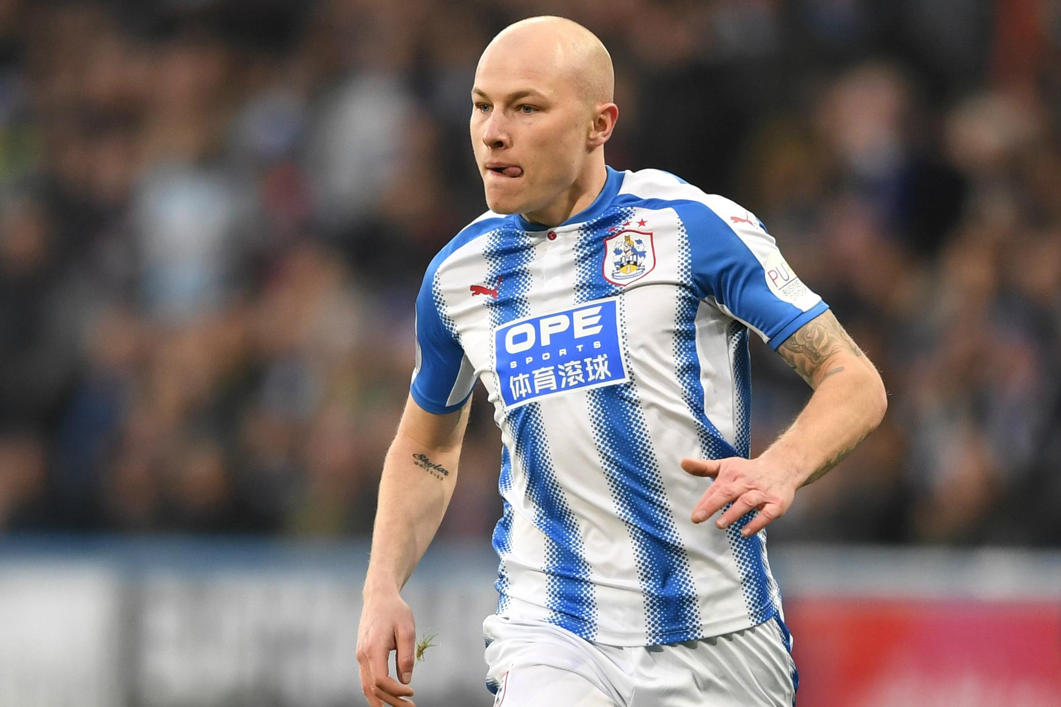 Aaron Mooy on the ball against West Ham.