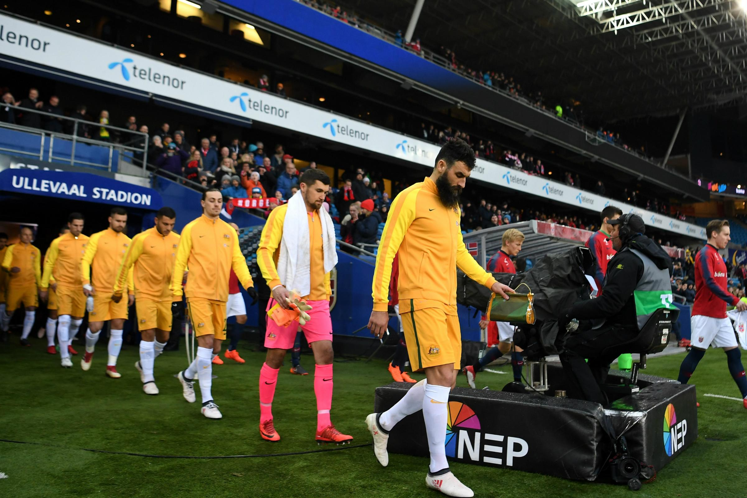 Socceroos walk out
