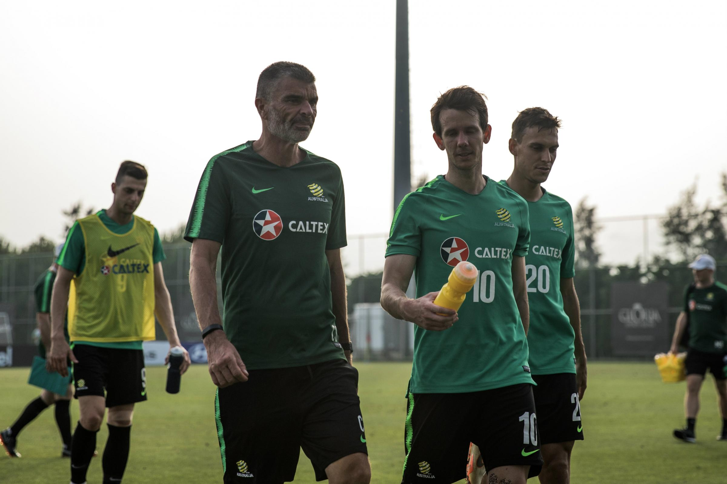 Robbie Kruse has a chat with Craig Duncan.