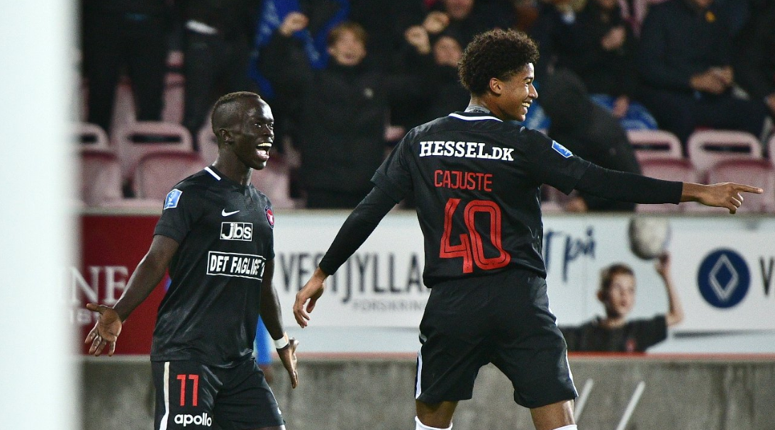Awer Mabil's FC Midtjylland are top of the Danish Superliga