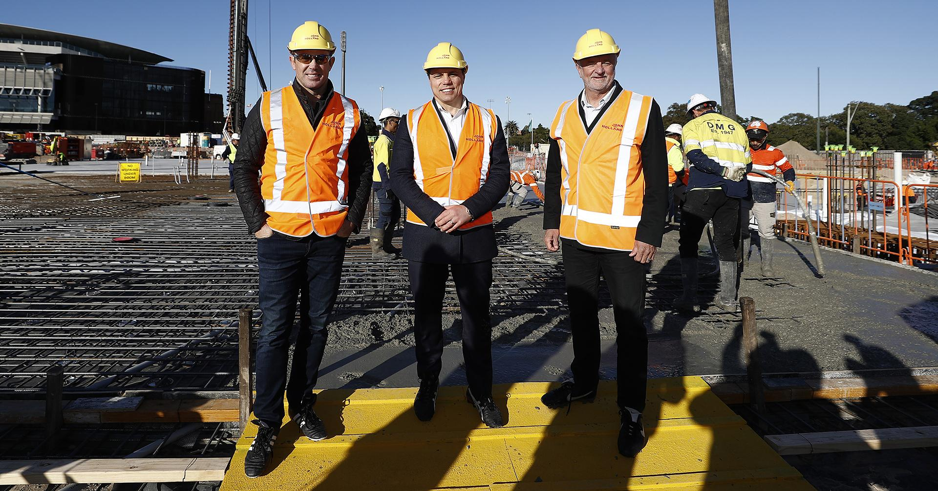Graham Arnold SFS construction new stadium