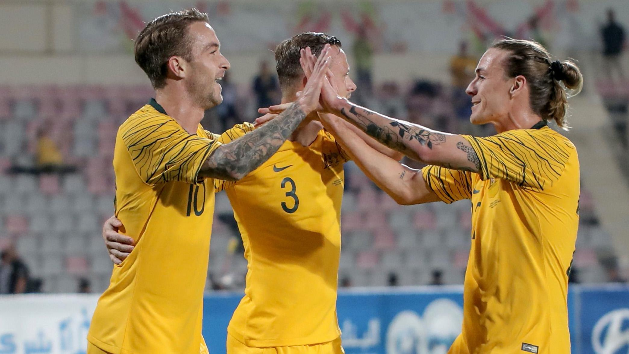 Socceroos celebrate quiz WC 2022