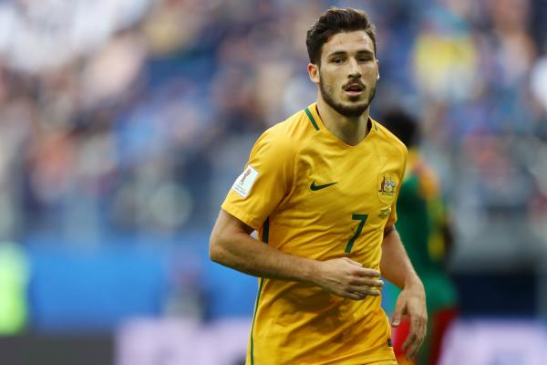 Leckie says he's unfazed by his new wing-back role with the Caltex Socceroos.
