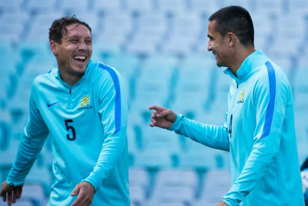 Mark Milligan and Tim Cahill