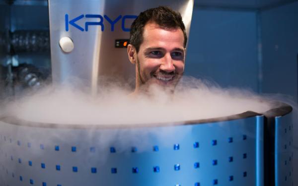 Ryan McGowan cryotherapy