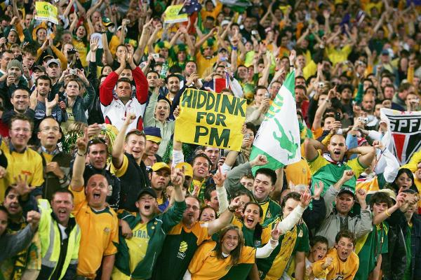 Caltex Socceroos fans