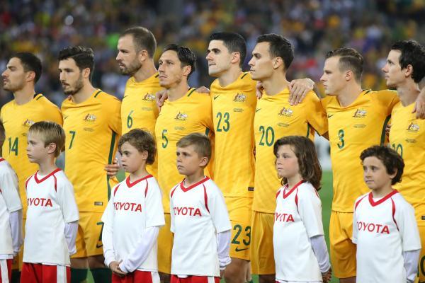 Caltex Socceroos team