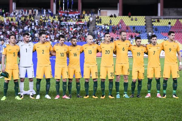 Caltex Socceroos starting XI