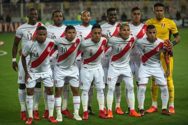 Peru starting XI