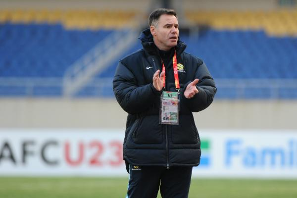 Australia U23 coach Ante Milicic