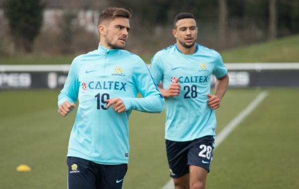 Josh Risdon and James Meredith