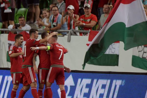 Hungary celebrate
