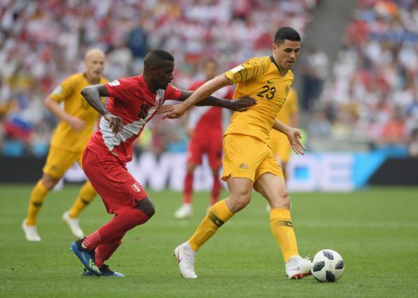 Rogic earns global praise for 'best ever' Socceroos performance