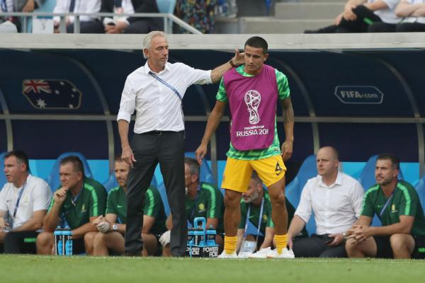 WATCH: Bert van Marwijk reacts to Socceroos' loss