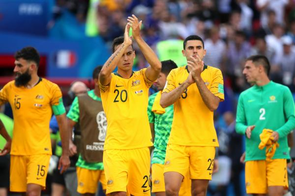 Socceroos thank the fans