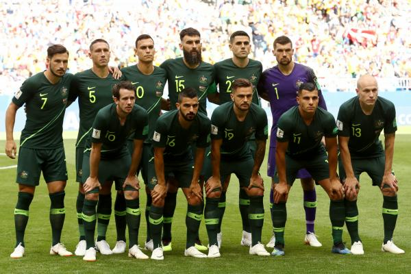 Socceroos starting XI v Denmark