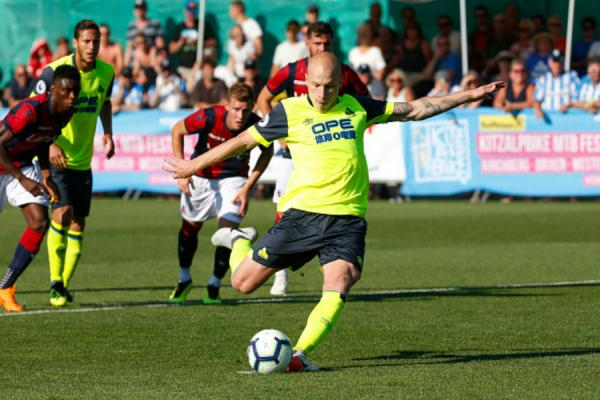 Mooy finds the net for Huddersfield in Bologna friendly