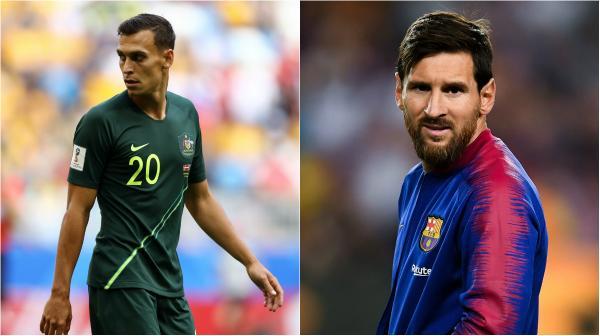 Trent Sainsbury; Lionel Messi