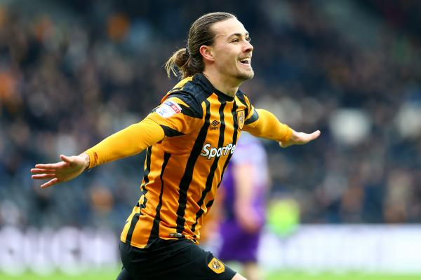 Irvine celebrates scoring for Hull City