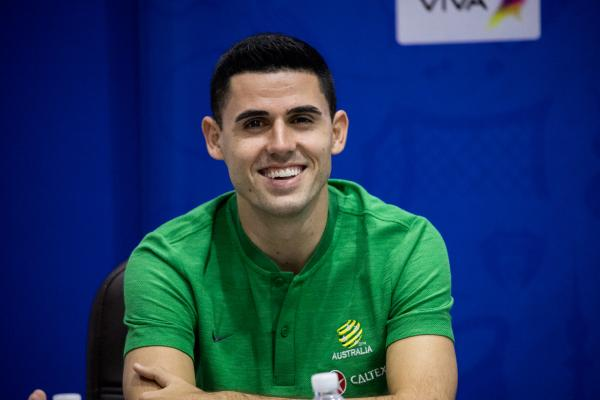 'It will be free-flowing attacking football': Rogic set to thrive in Arnold's Caltex Socceroos