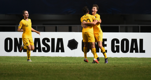 Full-time highlights: Young Socceroos v Jordan - AFC U19 Indonesia 2018