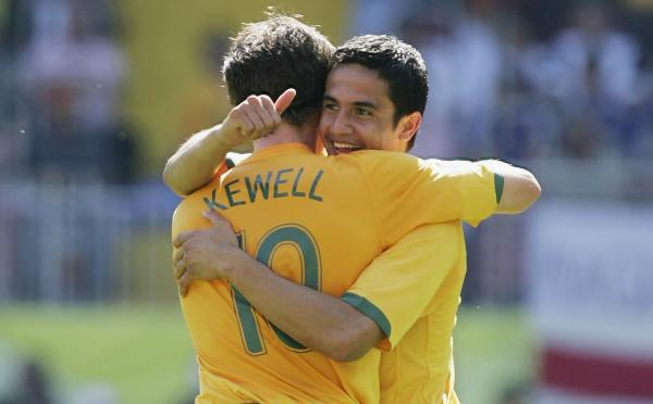 Harry Kewell Tim Cahill