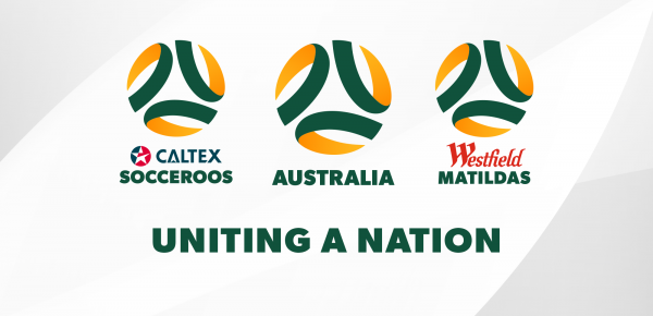 FFA unifying brand identity for Caltex Socceroos and Westfield Matildas