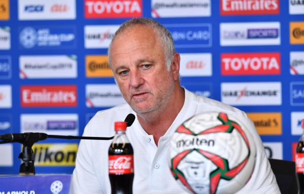 Graham Arnold insists that 'pressure is just a word' as AFC Asian Cup UAE 2019™ gets underway
