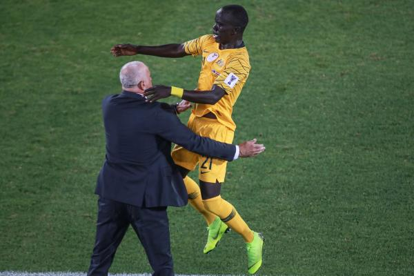 Socceroos win five-goal thriller over Syria
