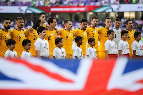 Socceroos starting XI v Jordan.