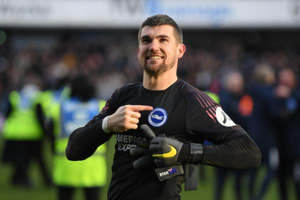 Aussies Abroad: Ryan clean sheet puts Brighton in reach of safety