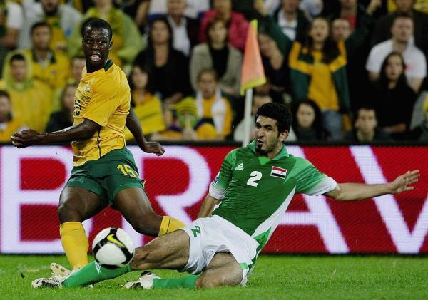 Bruce Djite Socceroos vs Iraq